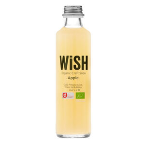 WiSH Organic Craft Soda with apple