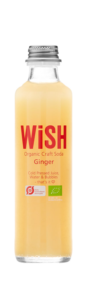 WiSH Organic Craft Soda with ginger