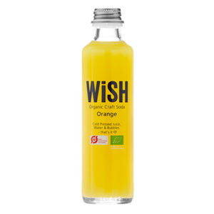 WiSH Organic Craft Soda Orange